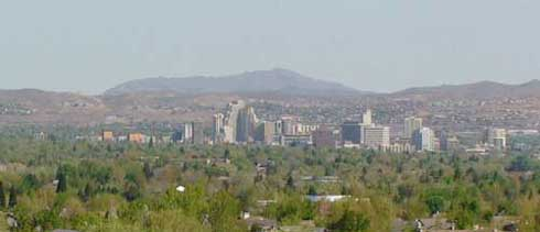 Panoramic Image of Reno